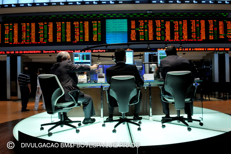 Brazil shares lower at close of trade; Bovespa down 0.13%