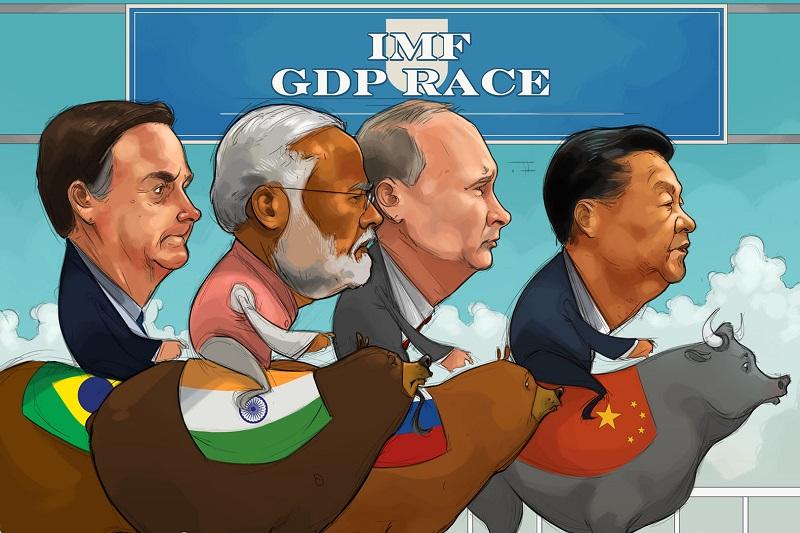 Karikatür: Çin, Diğer Ülkeler Mücadele Ederken 2020'nin Tek İyi Haberi