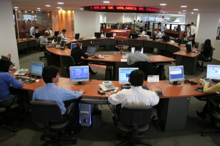 Colombia shares higher at close of trade; COLCAP up 0.04%