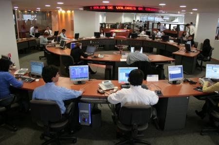 Kolumbien Aktien waren tiefer zum Handelsschluss; COLCAP verlor 2,16%