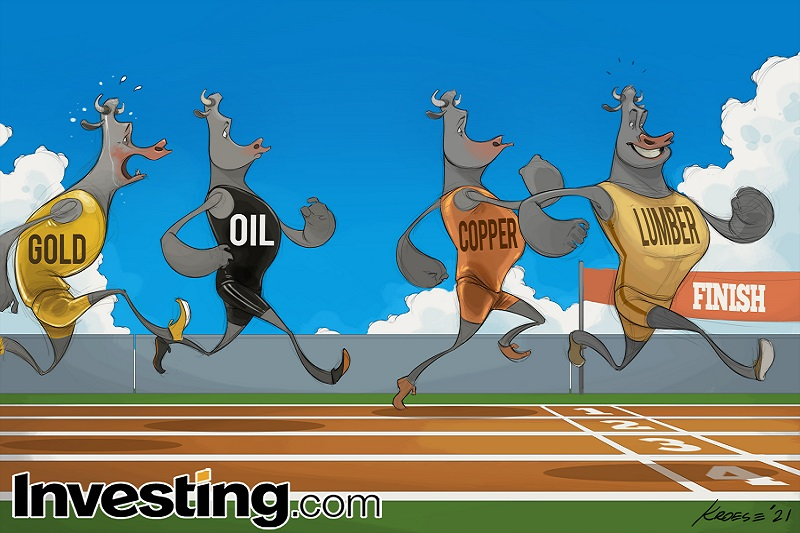 Comic: Commodities' Streak Ahead