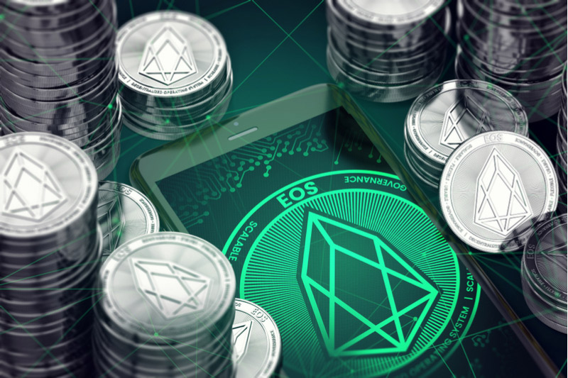 EOS Dips Below 4.1345 Level, Down 0.7%