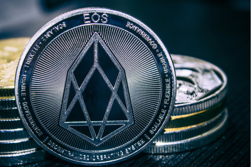 EOS Falls 13% In Rout