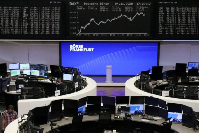 Germany stocks mixed at close of trade; DAX up 0.19%