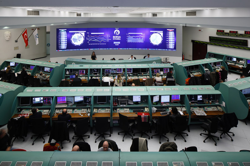 Turkey stocks lower at close of trade; BIST 100 down 0.05%