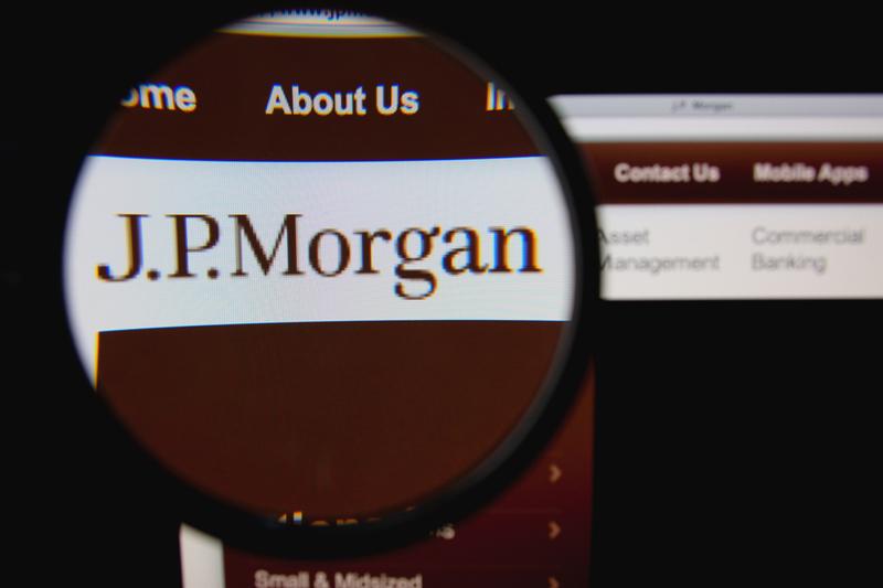 JPMorgan Rises 3%