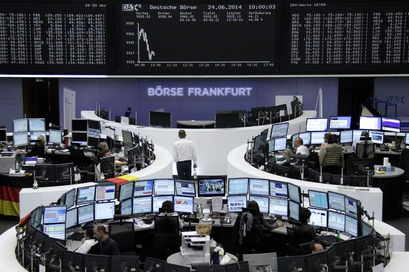 © Reuters. Frankfurt Stock Exchange