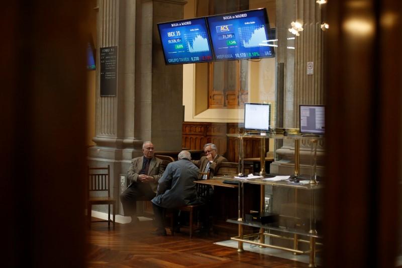 © Reuters.  מדדי המניות בספרד ירדו בנעילת המסחר; מדד מדריד 35 השיל 1.69%