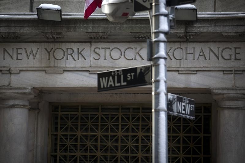 U.S. stocks lower at close of trade; Dow Jones Industrial Average down 0.94%