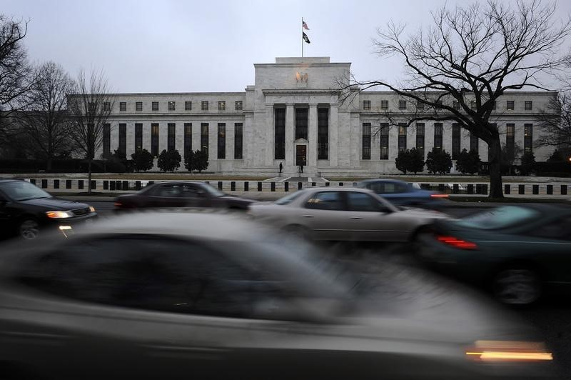 © Reuters. Goldman Now Sees Fed Cutting Rate Back to Record Low