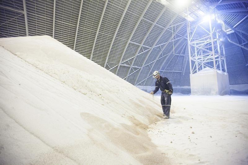© Reuters.  Entregas de fertilizantes no Brasil aumentam 3,7% em fevereiro, diz Anda