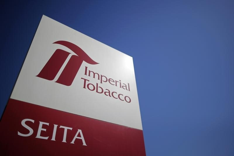 © Reuters. Imperial Brands names Stefan Bomhard CEO