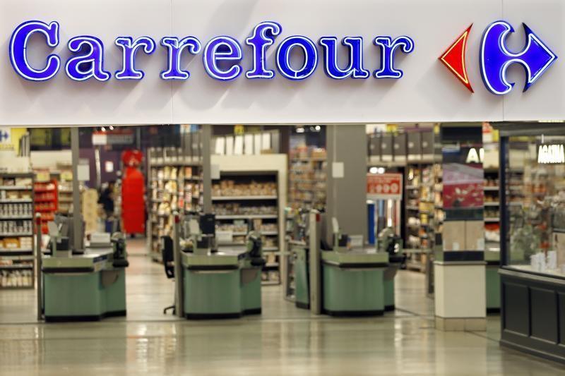 © Reuters.  Após divulgação de balanço, Carrefour recua mais de 4%