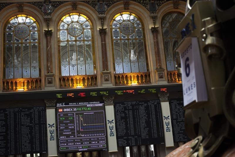 Рынок акций  Испании закрылся падением, IBEX 35 снизился на 0,45%