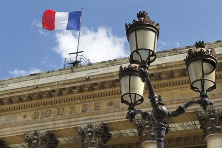 France shares lower at close of trade; CAC 40 down 0.08%