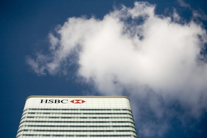 © Reuters.  HSBC escolhe John Flint, veterano do banco, como novo CEO