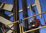 FTSE 100 boosted by oil giants as Brent crude tops US$47 a barrel