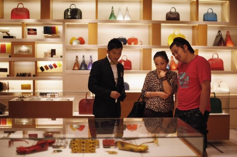 Luxury Retailers Rise Midday After Tiffany Takeover Bid