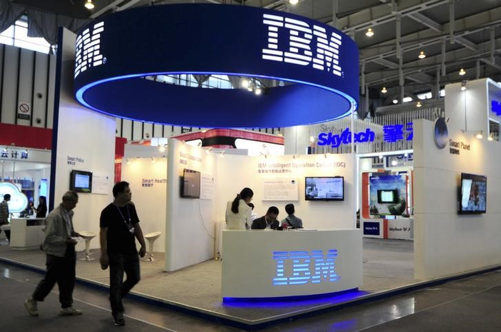 Can IBM Shares Continue Their Roll?