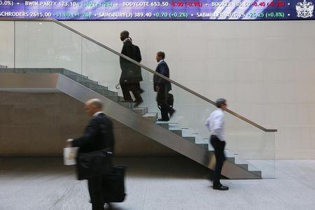 英国股市上涨;截至收盘Investing.com 英国 100上涨0.16%