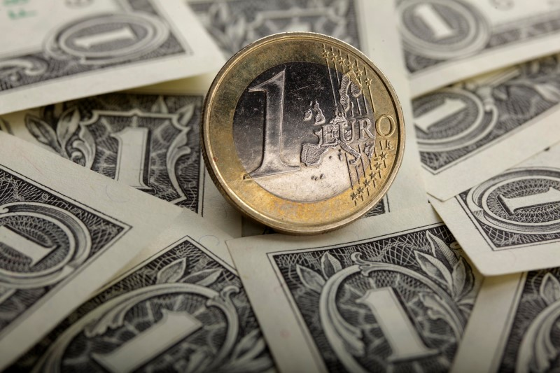 © Reuters.  Forex - EUR/USD ylhäällä Euroopan pörssipäivän aikana