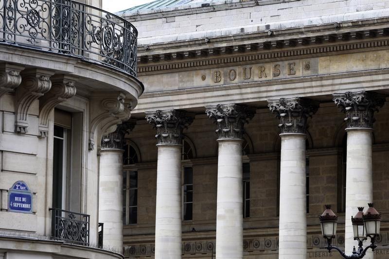 © Reuters. Франция: рынки акций заканчивают снижаться; индекс CAC 40 отступает на 0,62%