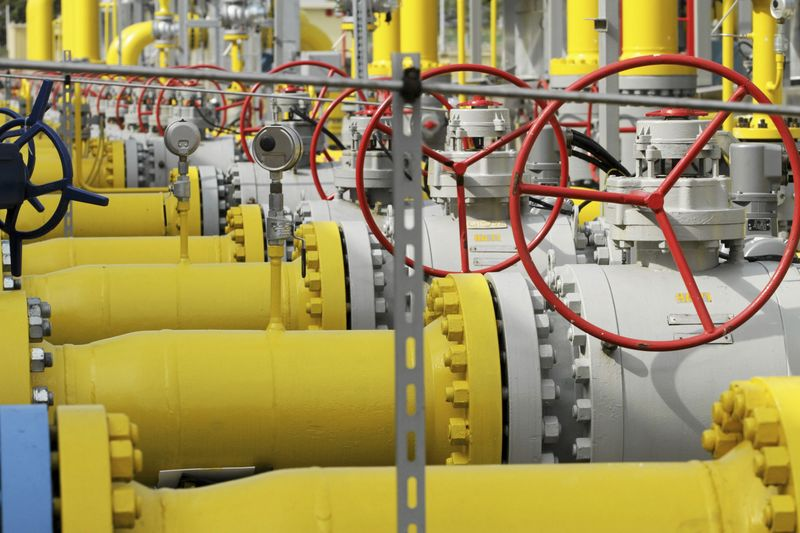 © Reuters.  Россия установила рекорд экспорта газа