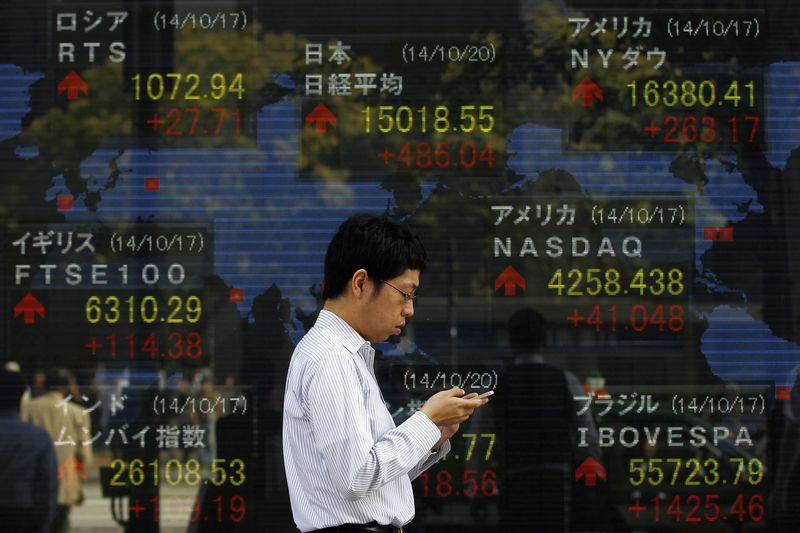 © Reuters.  Asian equities advanced in morning trade on Friday