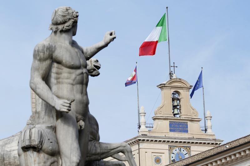 © Reuters.  La economía italiana creció un 1,4 % en 2017, según datos provisionales