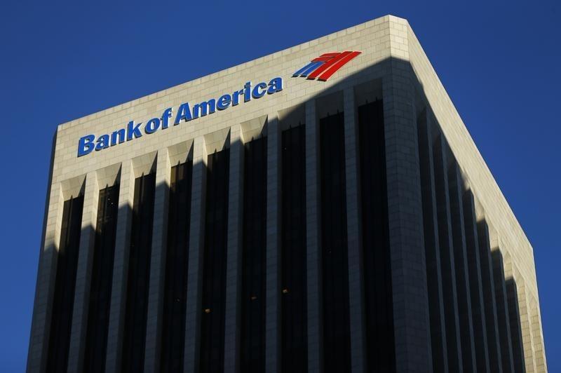Bank of America Falls 3%