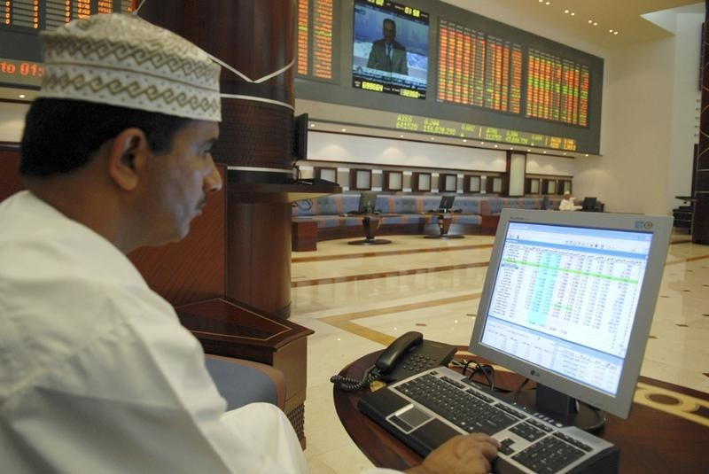 © Reuters.  United Arab Emirates stocks mixed at close of trade; DFM General up 0.29%