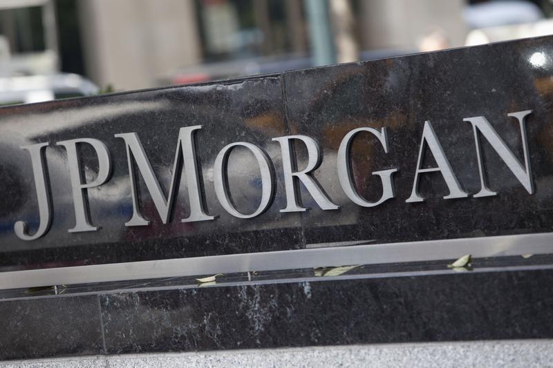 © Reuters.  JPMorgan Earnings, Revenue Beat in Q4