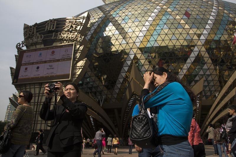 © Reuters.  MGM Resorts abre Casino de 3,4 mil MD em Macau, receitas aumentam