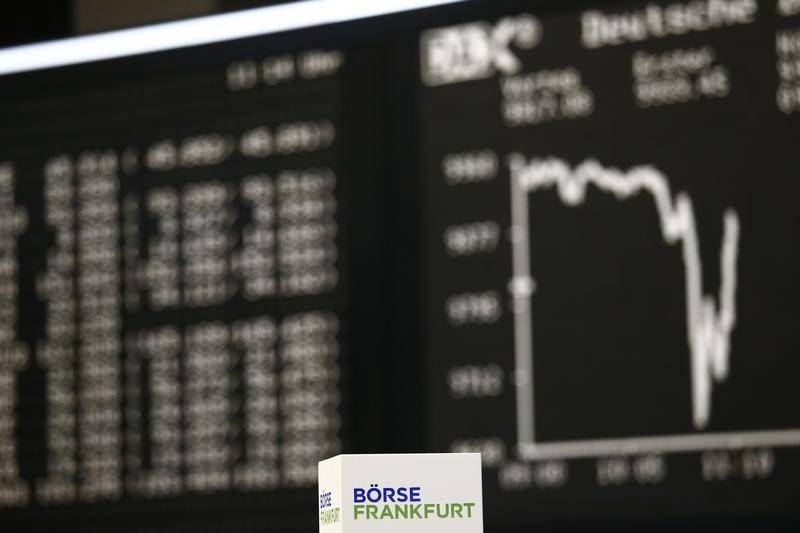 © Reuters. Germany stocks higher at close of trade; DAX up 0.73%