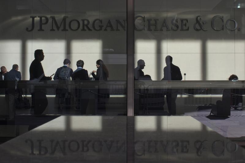 © Reuters.  JPMorgan Stock Rises 3%