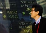GLOBAL MARKETS-Asian shares seen slipping as risk sentiment sours, euro buoyant