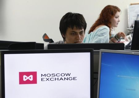 Russia shares higher at close of trade; MOEX Russia up 0.87%