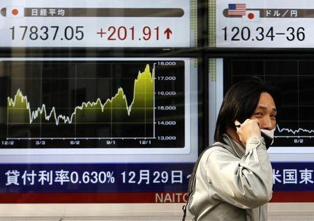 Aasian markkinat sulkevat laskuun; Nikkei alhaalla 0,59%