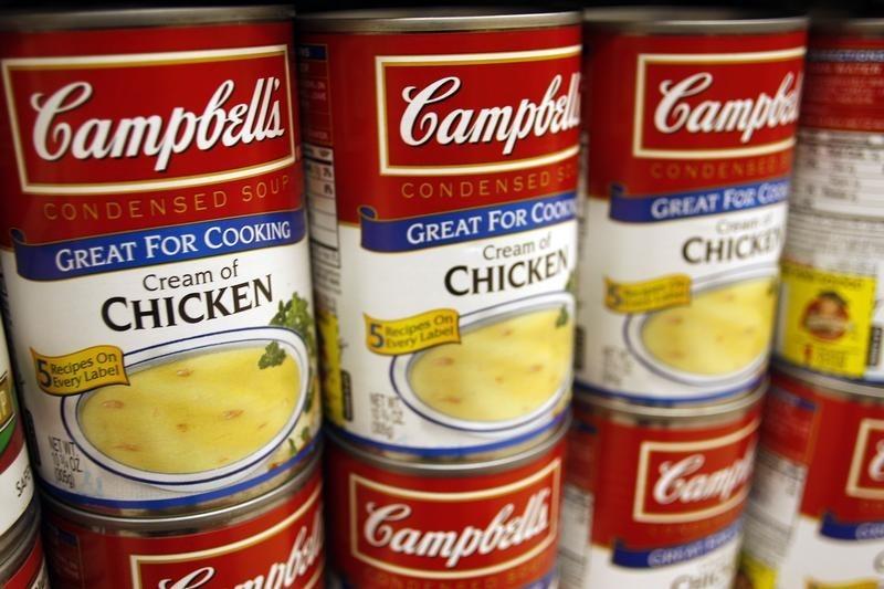 Stocks - Campbell Soup, Apple, Cronos Rise Premarket