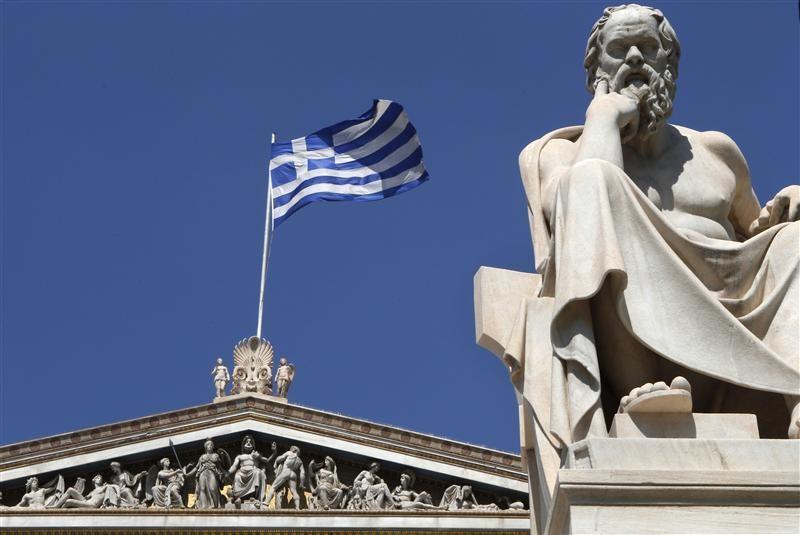 © Reuters.  Fitch повысило рейтинг Греции сразу на две ступени