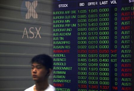 Australia shares higher at close of trade; S&P/ASX 200 up 0.39%