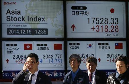 Pasaran Asia bercampur pada penutup; Nikkei turun 1.04%