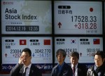 Asian Stocks Rise; China Fourth Quarter GDP Slows to 6.4% as Expected