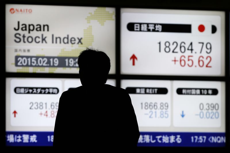 Japan shares lower at close of trade; Nikkei 225 down 0.14% By Investi