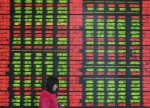 Asian shares mostly up, as investors look to US Fed testimony