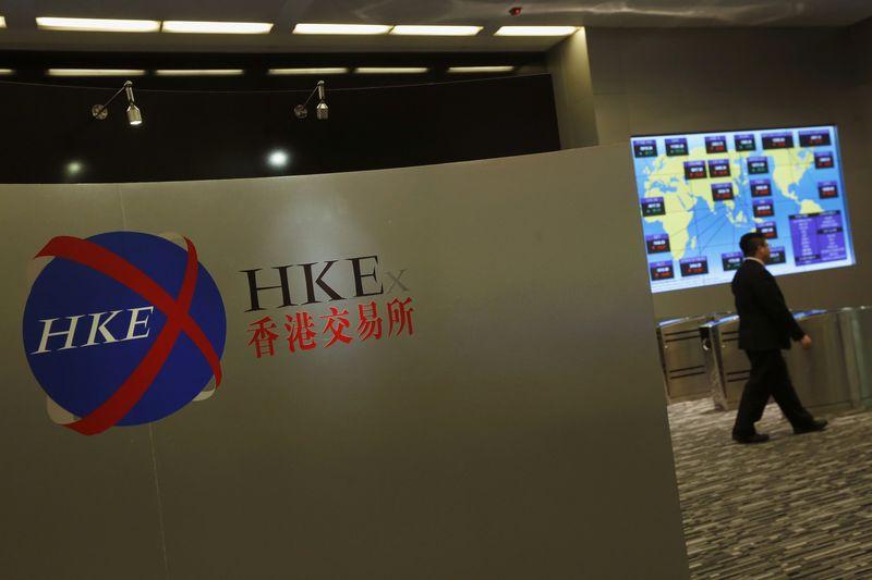 © Reuters.  Bolsa de Hong Kong: Hang Seng abre em alta de 0,72%
