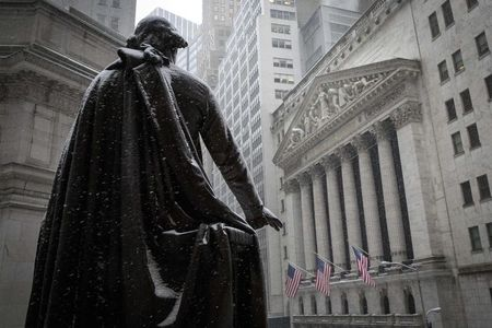 U.S. shares higher at close of trade; Dow Jones Industrial Average up 0.45%