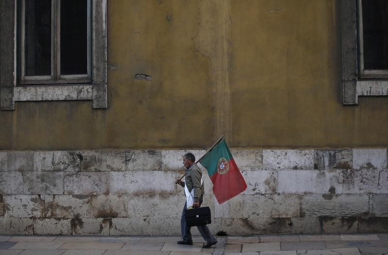 © Reuters.  Portugal stocks higher at close of trade; PSI 20 up 1.05%