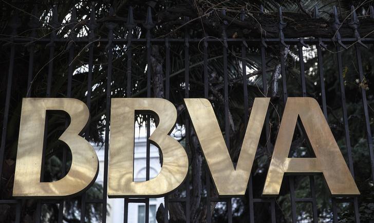 © Reuters.  La lira turca tiñe de rojo a la banca: BBVA se desploma y el BCE actúa
