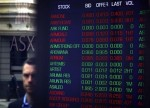 Australian shares set to fall; NZ gains